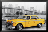 New York - Moment Yellow Prints