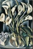 Arums I Leinwand von Tamara de Lempicka