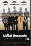 Usual Suspects Impresso em tela esticada