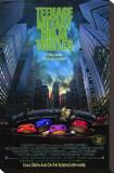 Želvy Nindža: film / Teenage Mutant Ninja Turtles (filmový plakát vangličtině) Reprodukce na plátně