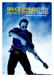 Concert Poster: Bruce Springsteen, Working on a Dream Tour Lærredstryk på blindramme
