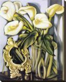 Arums III Leinwand von Tamara de Lempicka