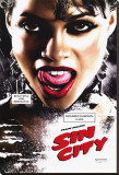 Sin City Stretched Canvas Print