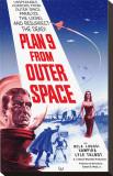 Plan dziewięć z kosmosu Płótno naciągnięte na blejtram - reprodukcja