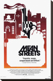 Mean Streets Stretched Canvas Print