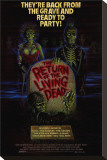 The Return of the Living Dead Stretched Canvas Print