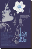 Lady Sings the Blues Stretched Canvas Print
