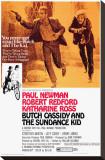 Butch Cassidy and the Sundance Kid Opspændt lærredstryk