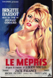 Le Mepris Stretched Canvas Print