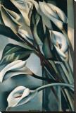Arums II Leinwand von Tamara de Lempicka