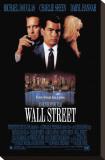 Wall Street Lærredstryk på blindramme
