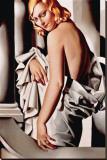Portrait de Marjorie Ferry Leinwand von Tamara de Lempicka
