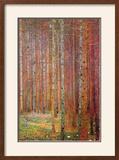 Tannenwald Framed Giclee Print by Gustav Klimt