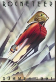 The Rocketeer Stretched Canvas Print