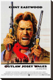 Outlaw Josey Wales Stretched Canvas Print