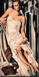 Portrait de Madame Allan Bott Stretched Canvas Print by Tamara de Lempicka