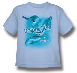 Toddler: Dophin Tale - Winter Collage T-shirts