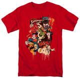 Comics - Dripping Characters T-shirts