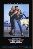 Top Gun Stretched Canvas Print