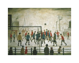 The Football Match Prints by Laurence Stephen Lowry