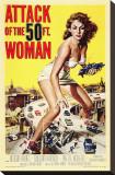 Attack of the 50 Foot Woman Trykk på strukket lerret