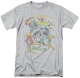Justice League - Super Collage T-shirts