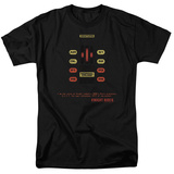 Knight Rider - Kitt Consol T-Shirt