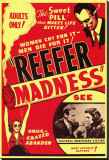 Reefer Madness Stretched Canvas Print
