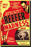 Reefer Madness Reproduction transf&#233;r&#233;e sur toile