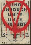 V pour Vendetta Reproduction transférée sur toile