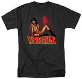 Vampirella - In a Dark Room T-Shirt