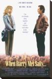 Harry und Sally, Englisch Leinwand