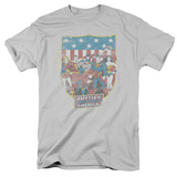 Justice League - JLA American Shield Shirts
