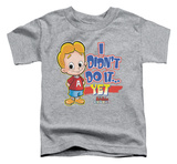 Toddler: Not yet T-shirts