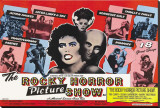 Rocky Horror Picture Show Stretched Canvas Print