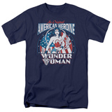 Wonder Woman - American Heroine T-shirts