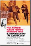 Butch Cassidy and the Sundance Kid - Şasili Gerilmiş Tuvale Reprodüksiyon