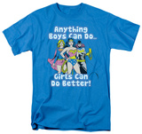 Justice League - Girls Can Do Better T-shirts