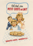 Petit Coste au Lait Prints by  The Vintage Collection