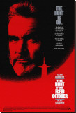 The Hunt for Red October Stretched Canvas Print