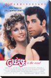 Grease Stretched Canvas Print