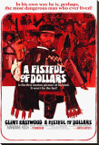 Fistful of Dollars Stretched Canvas Print