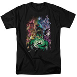 Green Lantern - The New Guardians T-shirts