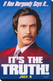 Anchorman: The Legend of Ron Burgundy Reproduction transférée sur toile