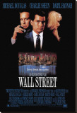 Wall Street Stretched Canvas Print