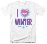 Dophin Tale - I Heart Winter Shirt