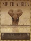Sør-Afrika Poster av Ben James