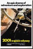 2001: A Space Odyssey Stretched Canvas Print