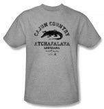 Swamp People - Cajun Country T-shirts
