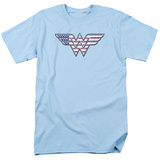 Wonder Woman - Red White &amp; Blue T-shirts